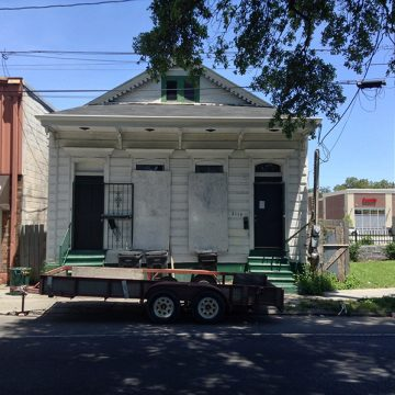 The New Orleans writers' residency, when purchased